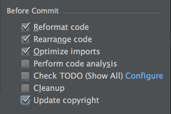 Automate Code Reformat & Code Rearrange before every commit