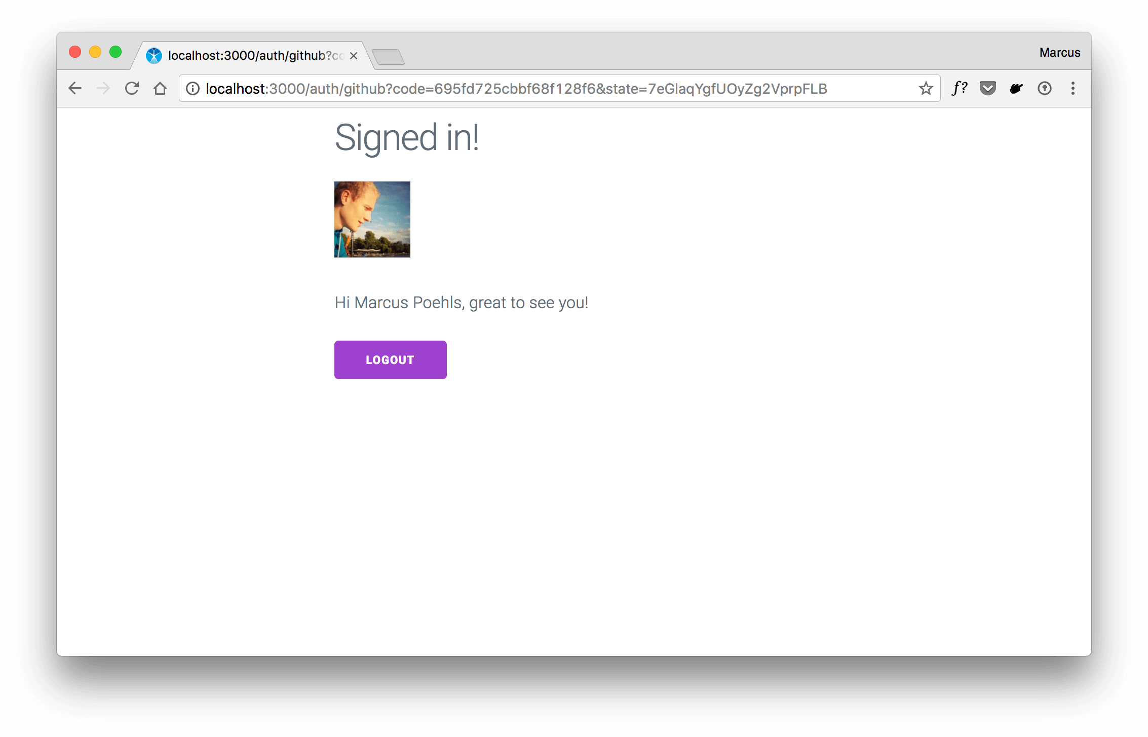 hapi — Authenticate with GitHub And Remember the Login