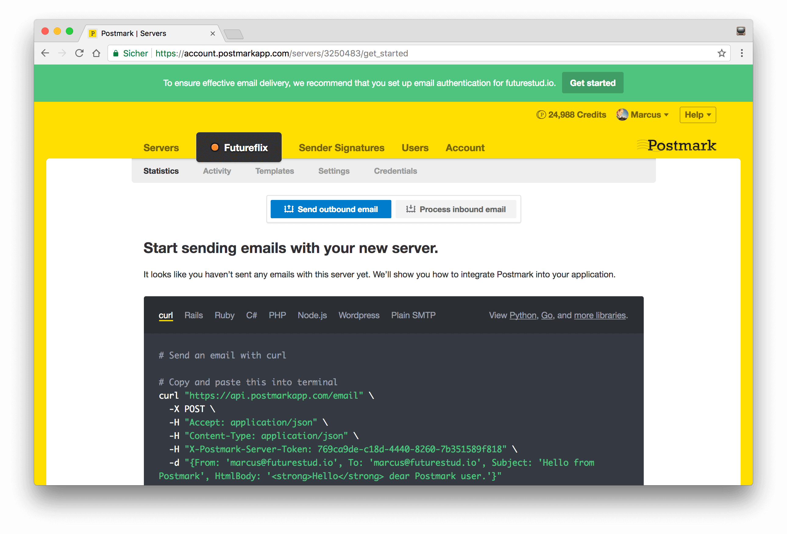 learn hapi — Sending Emails in Node js