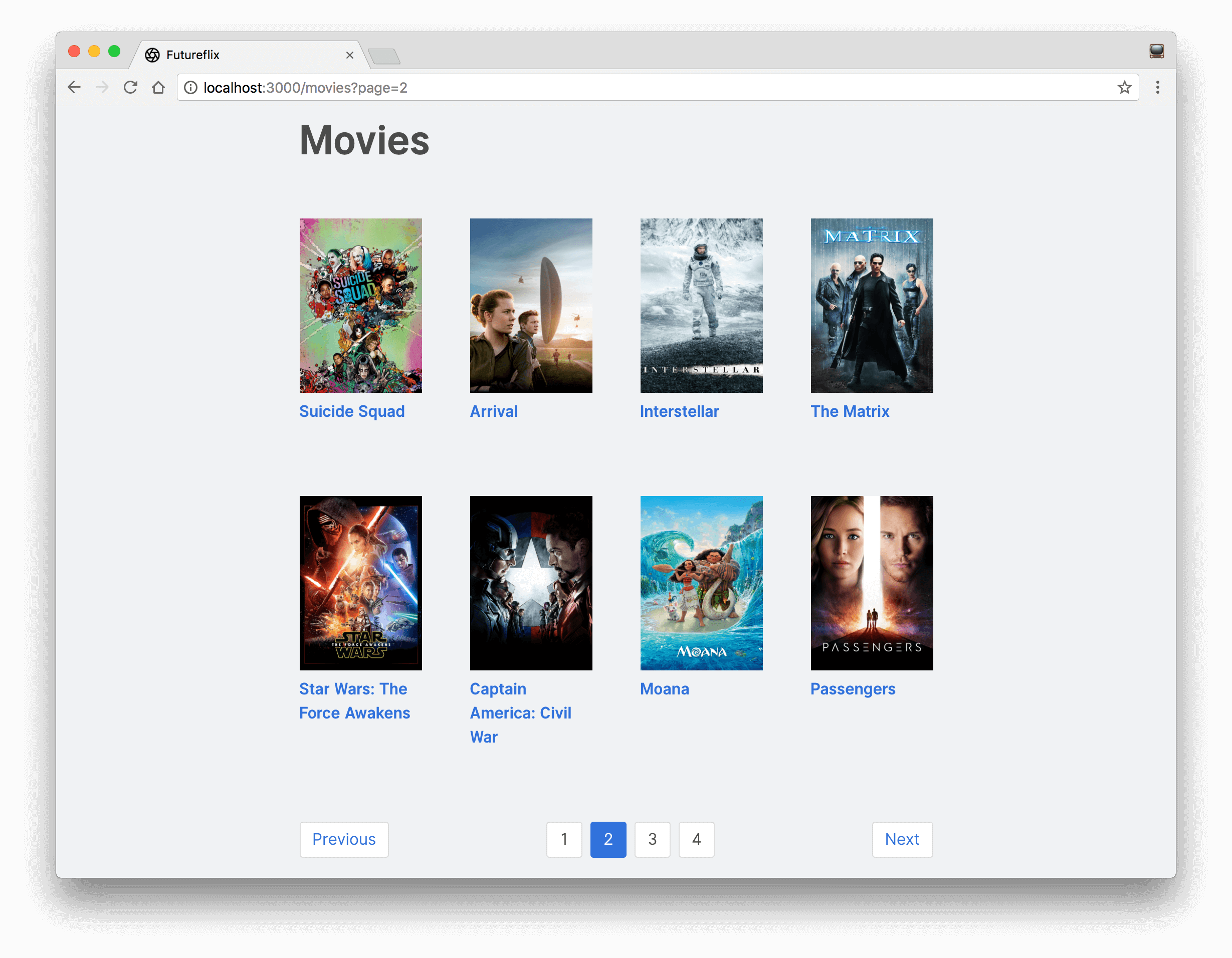 learn hapi — Implementing Pagination for Movies