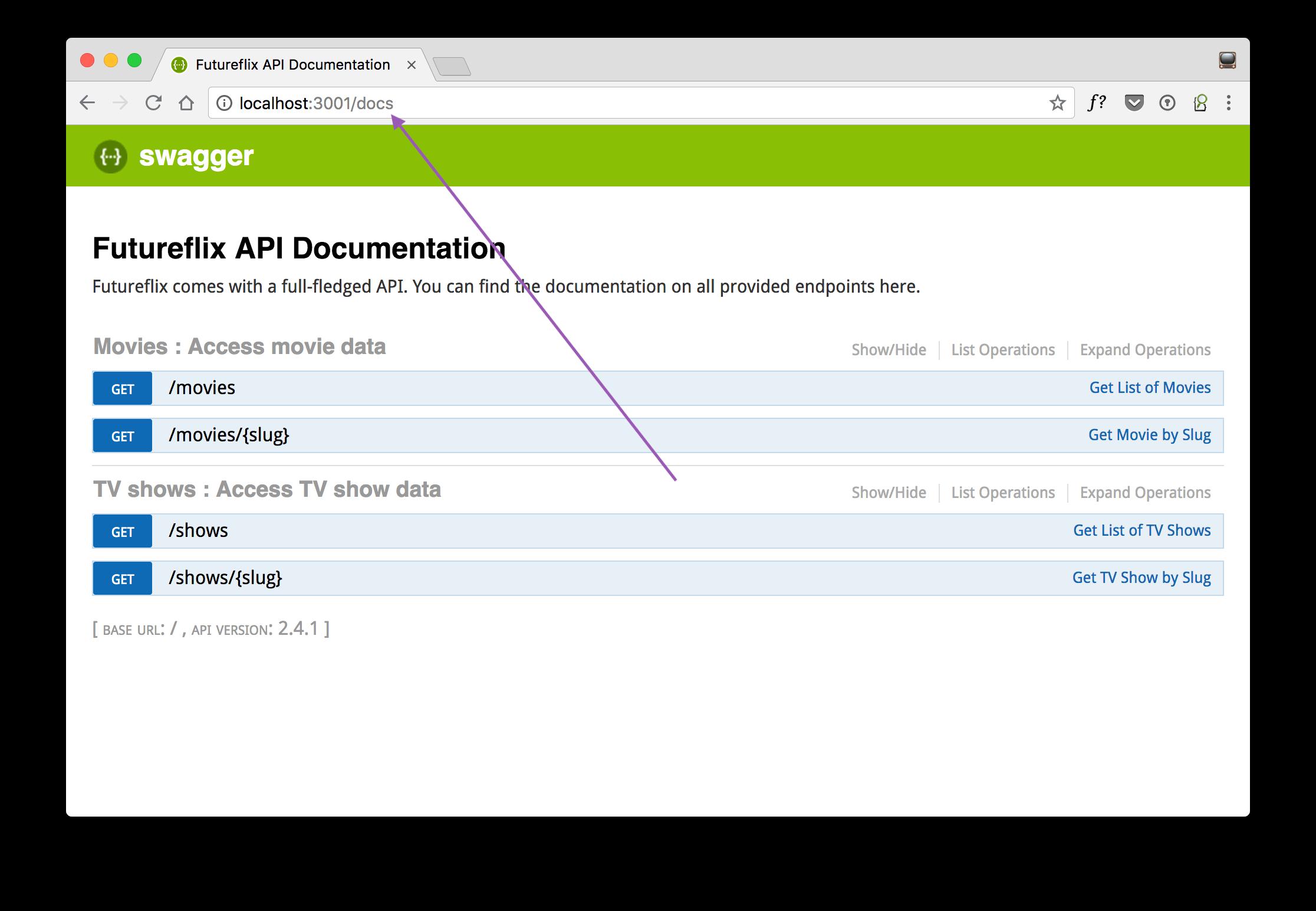learn hapi — Customize Your Swagger API Documentation URL